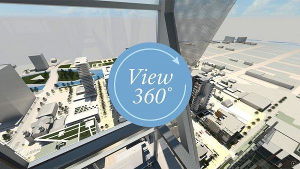 360 Panoramic VR view of West 2nd District